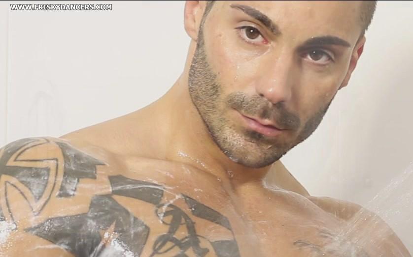 handsome male stripper Adrian