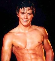 Christopher Atkins male stripper