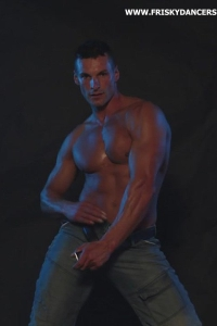Hot muscled man