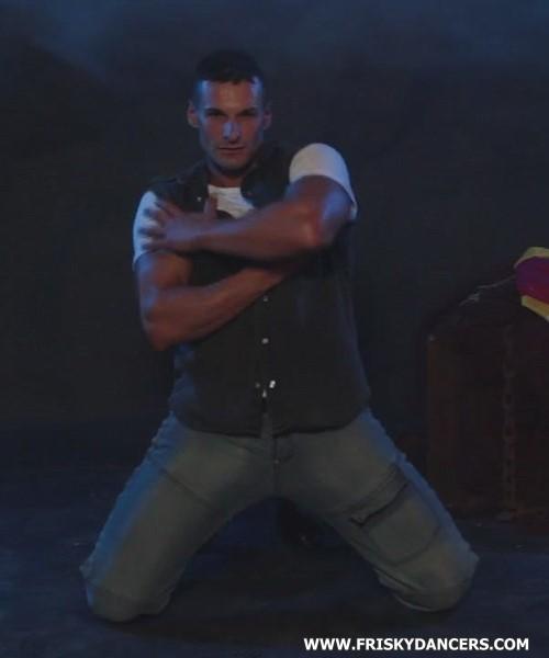 Male stripper Cristian