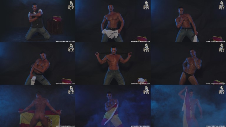 male stripper video screenshot
