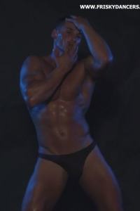 Stunning male stripper