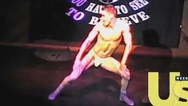 Channing Tatum striptease video
